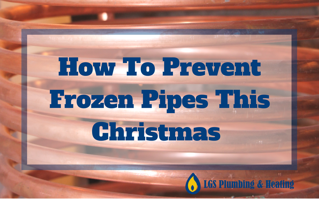 How To Prevent Frozen Or Burst Pipes While You're Away This Christmas